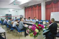 2014年10月16日明邦化工汽车油漆事业部召开培训会议